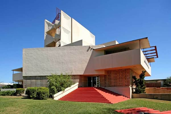 Frank Llyod Wright's buildings at Lakeland's Florida Southern College enrich any visit.