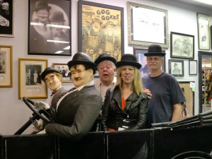The Laurel and Hardy Museum in Harlem, Oliver Hardy's childhood home in Georgia  is a popular stop for tourists.