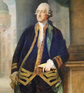 John Montagu 4th Earl of Sandwich.