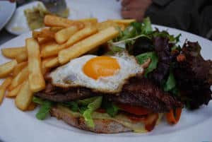 Wagyu Rump Steak Sandwich - Cafe Sapore AUD17.50