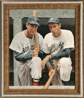 Baseball legends Ted Williams and Joe DiMaggio were familiar faces in the Grapefruit League. Today, they are legends of the game.