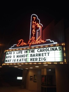 The Don Gibson Theatre presented Life in The Carolinas hosted by Carl White
