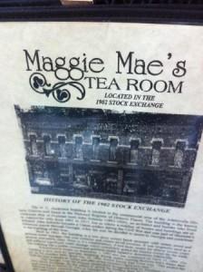 Maggie Mae's Tea Room Adairsville 2014