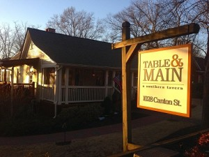 Table and Mainb
