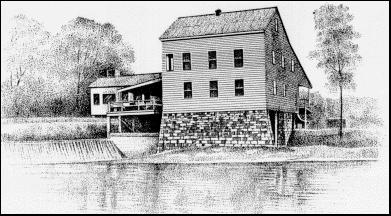 Sketch of Cortner Mill