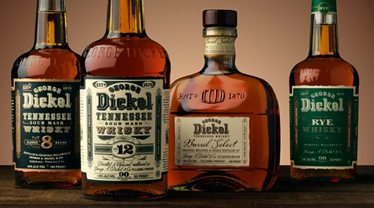 Different Expressions of George Dickel Whisky