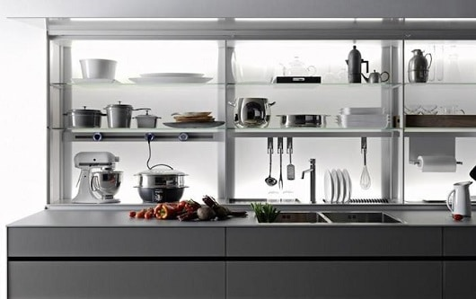 Valcucine Logica Kitchen System