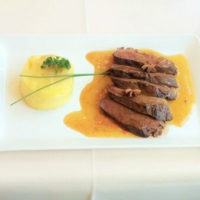 Roasted Duck Breast with Honey and Spices (La Bouteille d'Or)