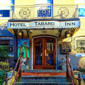 Georgetown's Hotel Tabard Inn combine's luxury with Washington's history