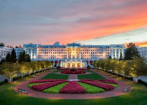 Sunset at The Greenbrier