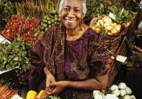 One of the acclaimed cookbooks by Edna Lewis