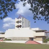 The spectacular campus at Florida Southern College design by Frank Lloyd Wright